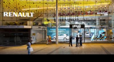 Découvrez l'Atelier Renault sur les Champs Elysées