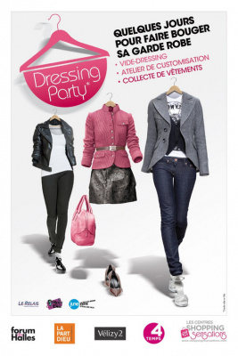 Dressing party aux Quatre Temps