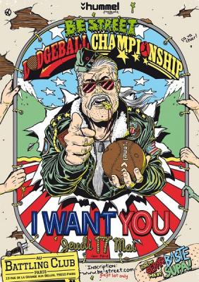 Be Street Dodgeball Championship