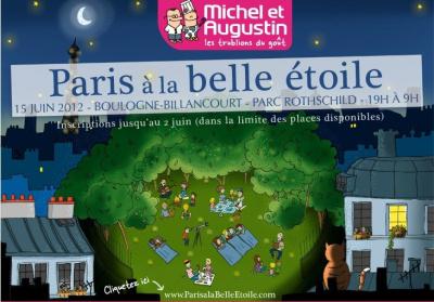 Michel et Augustin : Paris à la Belle Etoile