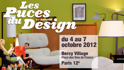Les puces du design 2012 27 me dition - Puces du design paris ...