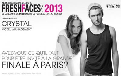 Fresh Faces 2013 : casting à Paris