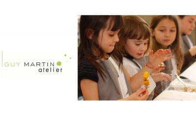 Les enfants prennent les commandes de l'Atelier Guy Martin