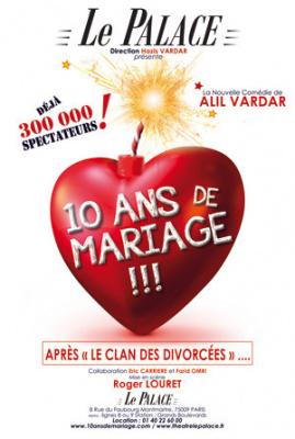 10 ans de mariage, retour au Palace