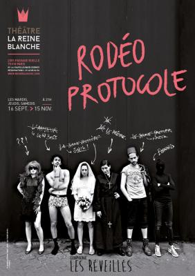 Rodéo protocole au Théâtre de la Reine Blanche