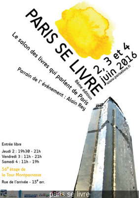Paris se livre 2016, 8ème édition