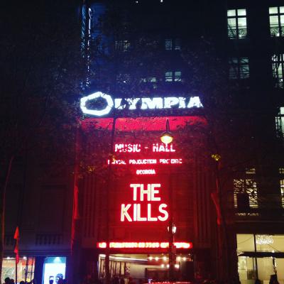 The Kills en concert à l'Olympia : live report