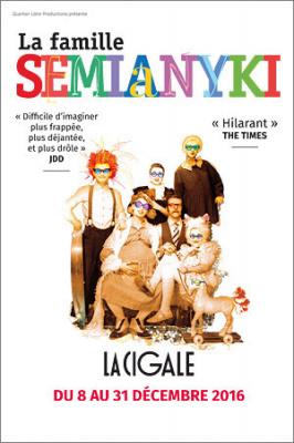 la famille semianyki cigale