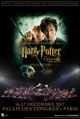 Harry potter et la chambre des secrets en cin concert au - Harry potter et la chambre des secrets en streaming ...