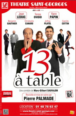 13 table au th tre saint georges for 13 a table theatre