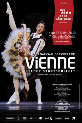 Le Ballet National de l'Opéra de Vienne, pour les étés de la danse, édition 2013