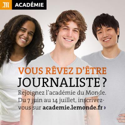 Monde Académie, un concours pour devenir journaliste
