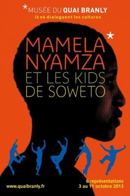 Mamela Nyamza et les Kids de Soweto au Quai Branly