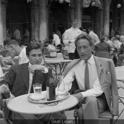 Jean Babilée et Jean Cocteau