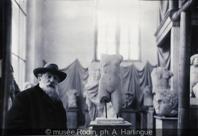 Exposition Rodin, la lumière de l'Antique