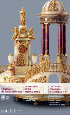 exposition de Bronze et de pierre dure, au Château de Fontainebleau