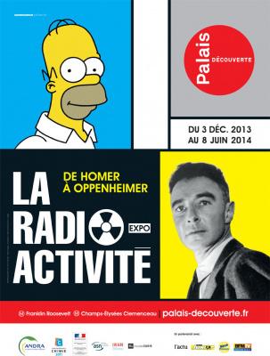 exposition Radioactivité au Palais de la Découverte