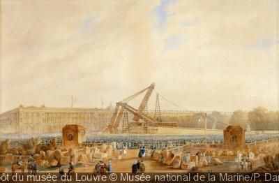 Exposition Voyage de l'Obélisque au Musée de la Marine