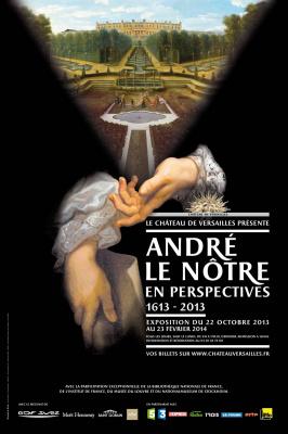 exposition André le Nôtre en perspective au Château de Versailles