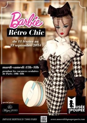 Barbie retro chic, au Musée de la Poupée