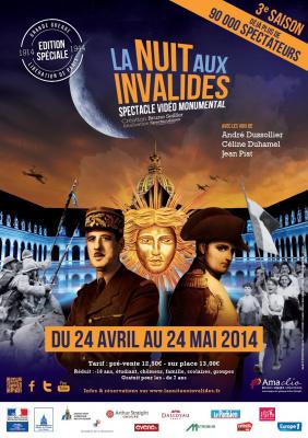 Nuit aux Invalides 2014