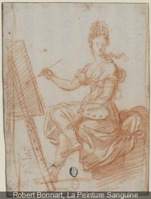 Dessins français du XVIIe siècle à la BNF