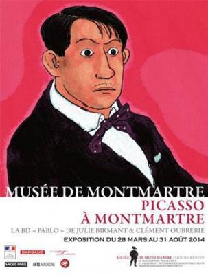 Exposition Picasso à Montmartre