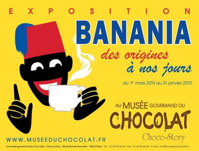 exposition Banania au Musée du Chocolat