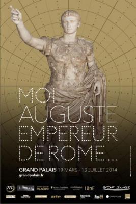 Moi, Auguste, empereur de Rome au Grand Palais