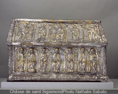 Trésor de l'Abbaye de Saint-Maurice au Musée du Louvre
