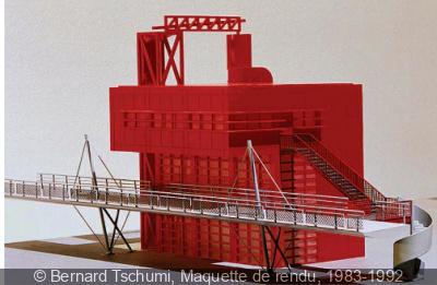 Bernard Tschumi au Centre Pompidou