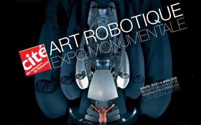 Art robotique à la Cité des Sciences