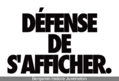 Enchanté, Benjamin Isidore Juveneton aux Docks