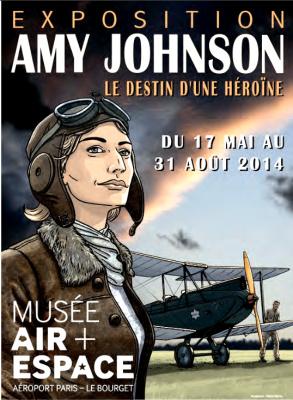 Amy Johnson au Musée de l'Air et de l'Espace
