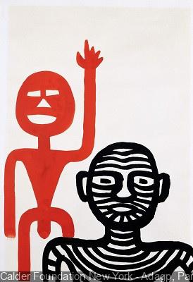 Exposition totem et tattoo au Centre Pompidou