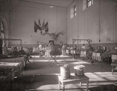 exposition Hôpital auxiliaire n°23 à Vaux-le-Vicomte
