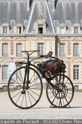 Exposition A bicyclette au Domaine de Sceaux