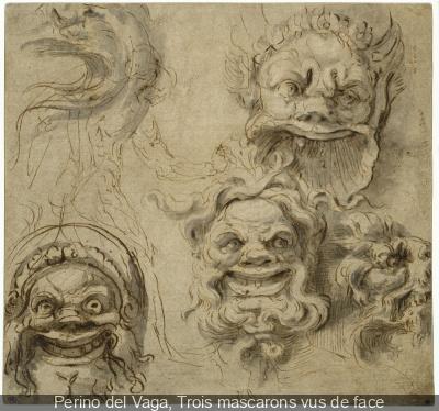 exposition Masques au Musée du Louvre