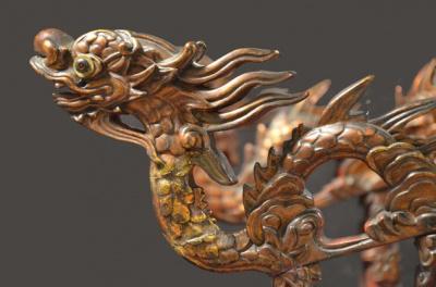 l'envol du dragon, au Musée Guimet