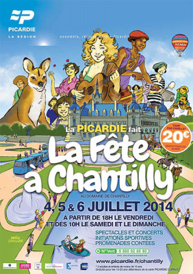 fête à Chantilly 2014