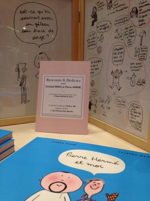 Exposition Pierre Hermé Bon Marché