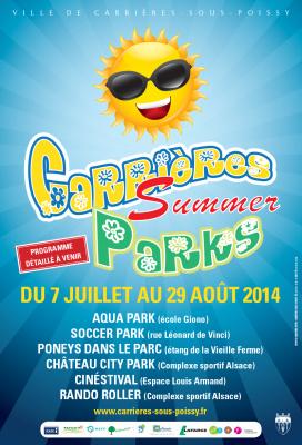 Carrières Summer Parks 2014
