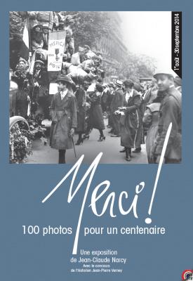 exposition Merci ! sur les Champs Elysées