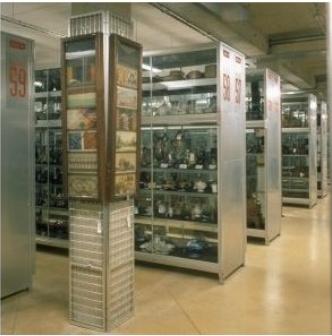 réserves du Musée des Arts et Métiers