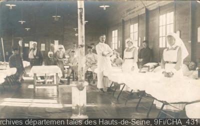 Les Hauts-de-Seine dans la Grande Guerre aux Archives de Nanterre