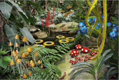 Hybridations, Alexis Tricoire au Jardin des Plantes
