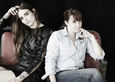 Annina Roescheisen et Laëtitia Lescher à l'Espace GLOOW