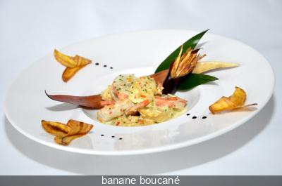 Banane de Guadeloupe au Paradis du fruit