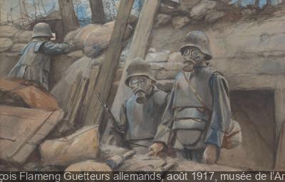 Vu du front au Musée de l'Armée