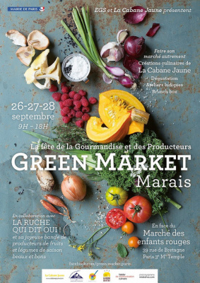 Green Market Marais 2014